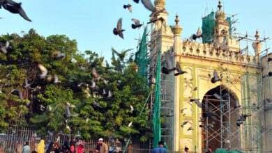 Photo of Work at Makkah Masjid leads to temporary closure of main gate
