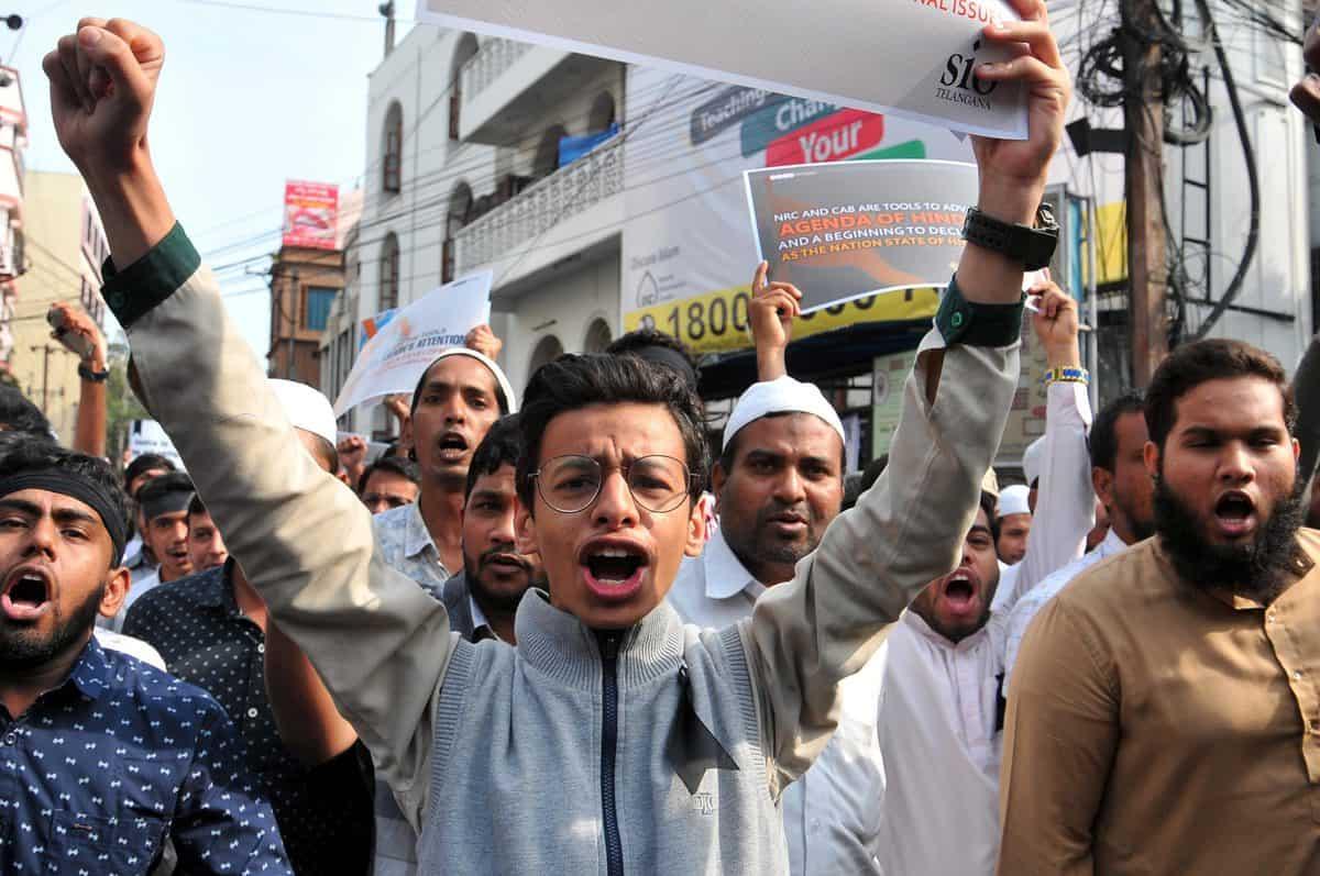 Anti-Citizenship (Amendment) Act Protest rocks Mehdipatnam