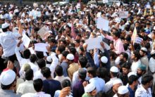 Thousands protest against CAA in Karnataka