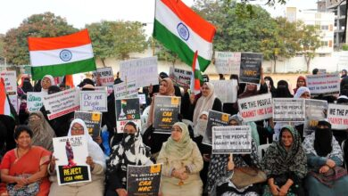 Photo of Women groups in Hyderabad protest against CAA-NRC