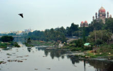 Neglected Musi River in Hyderabad turns into cesspool