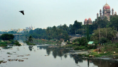 Photo of Neglected Musi River in Hyderabad turns into cesspool