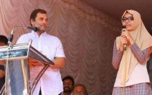 Safa: Daughter of madrassa teacher praised for translating Rahul