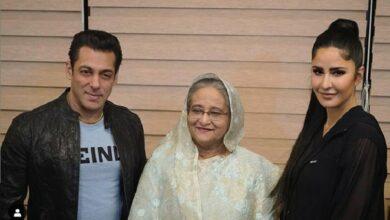 Photo of Salman Khan, Katrina Kaif meet Bangladesh PM Sheikh Hasina