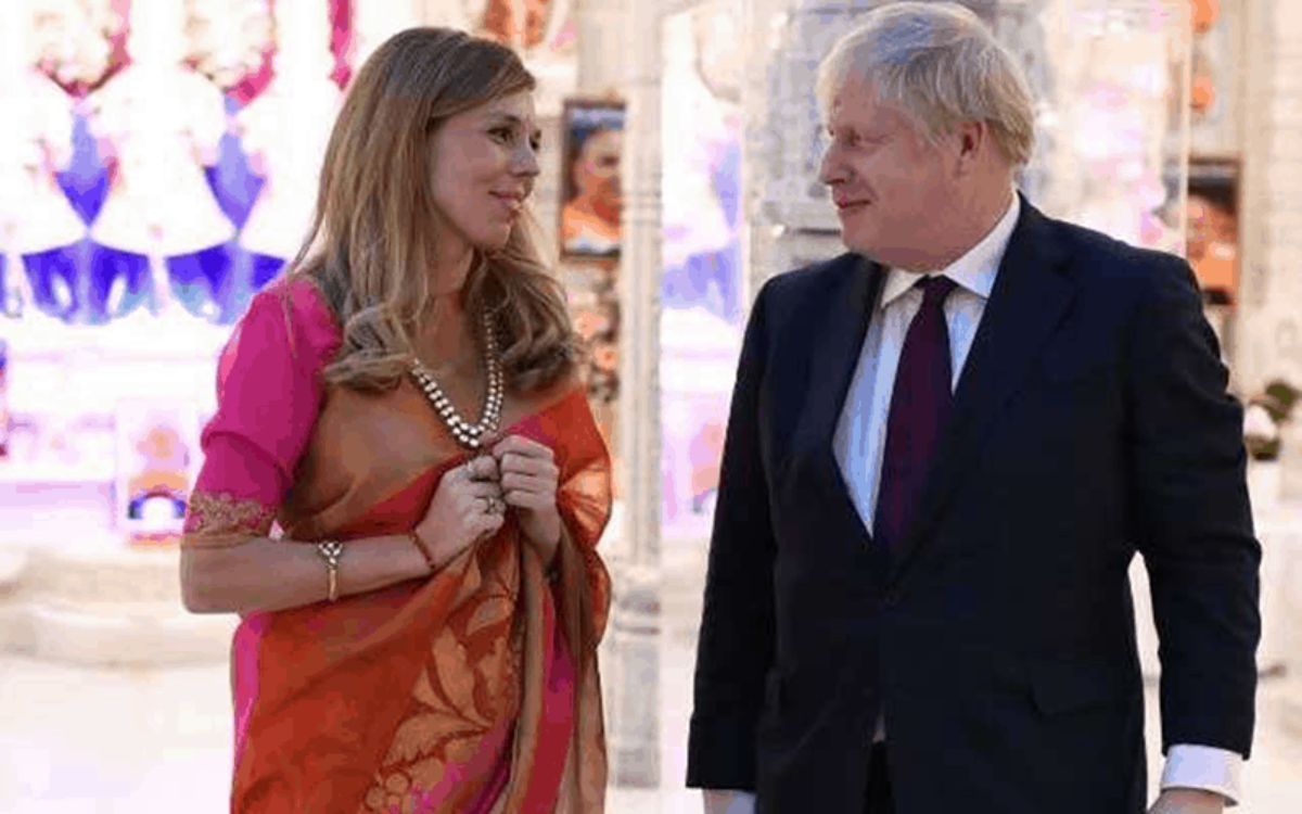Boris johnson girlfriend