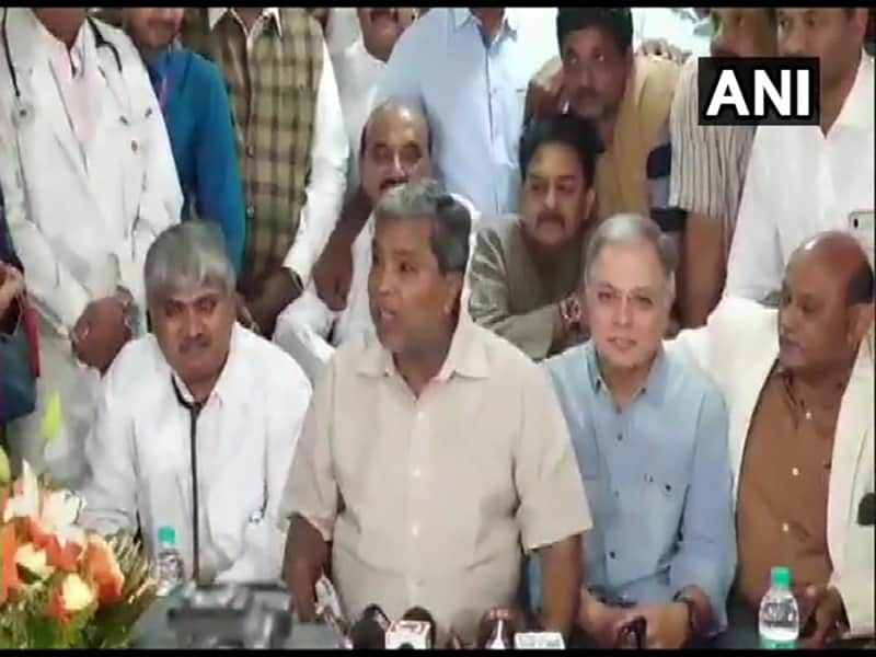 I am fine, being discharged from hospital : Siddaramaiah