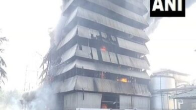 Photo of Fire breaks out at Srichakra Oil Mill in East Godavari district