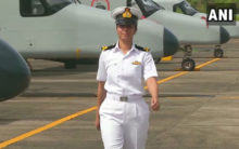 Shivangi is Indian Navy's first woman pilot