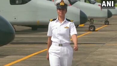 Photo of Shivangi is Indian Navy's first woman pilot