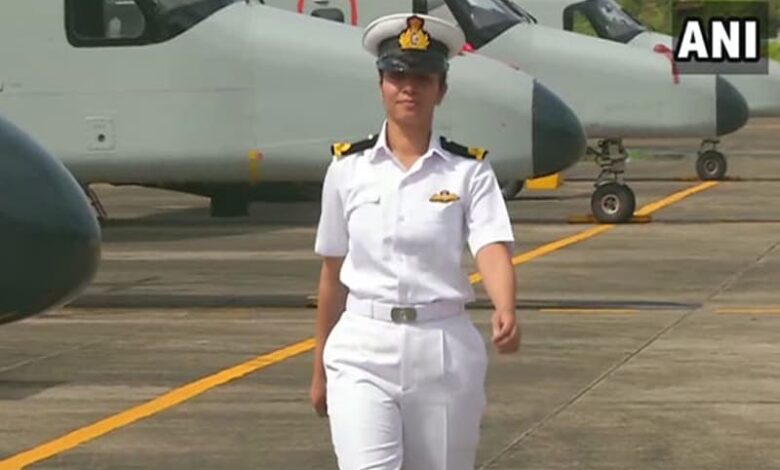 Meet Shivangi: Navy's first woman pilot to get 'wings'