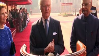 Photo of Looking forward to stay in India, says Swedish King Carl