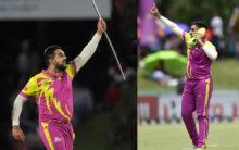 Tabraiz Shamsi's magical wicket-taking celebration goes viral