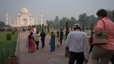Photo of Footfalls at Taj Mahal dip to 36 per cent