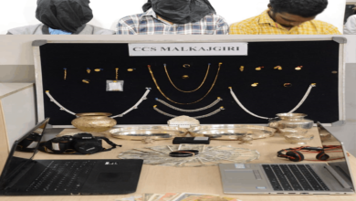 Hyderabad: 3 held for burglary, gold ornaments, cash recovered