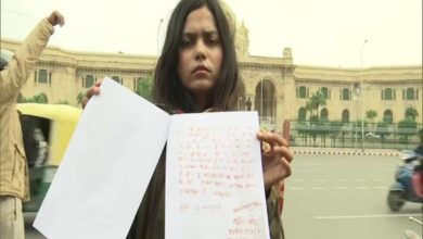 Photo of Ace shooter writes a letter in blood to Amit Shah