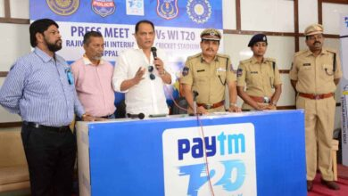 It's my first match as an administrator: Azharuddin