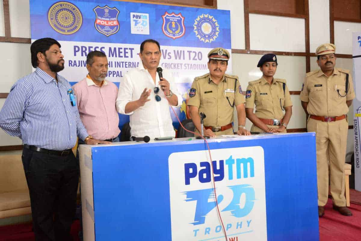 Tight security for India vs West Indies T-20 cricket match