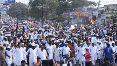 Photo of Thousands participate in a rally against CAA-NRC in Kamareddy
