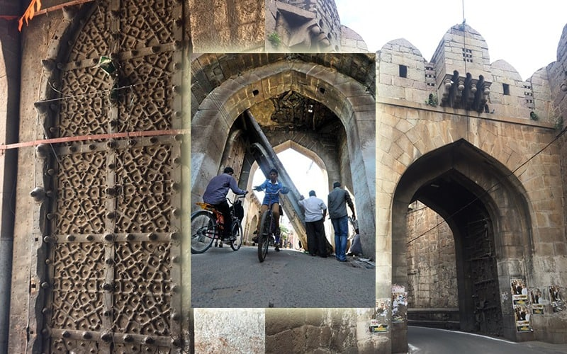ASI yet to fulfill promise to restore ancient Golconda Fort gate