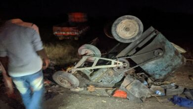 Photo of 3 dead after truck collides with bullock cart in K'taka