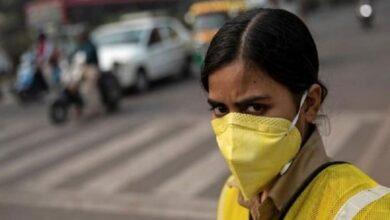 Photo of Delhi's air quality improves marginally