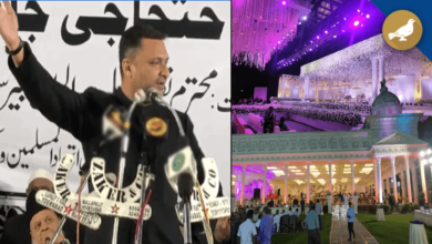 Photo of Akbar Owaisi slams function hall and hotel owners in Hyderabad