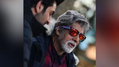 Photo of Amitabh Bachchan shoots in low temperature in Manali for 'Brahma