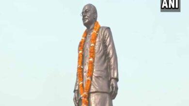 Photo of Nitish Kumar unveils statue of Arun Jaitley in Patna