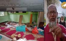 Hyderabad: Miscreants target a mosque, Mild tension in Azampura