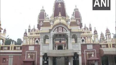 Photo of Delhi: Portals of Birla Mandir closed due to solar eclipse