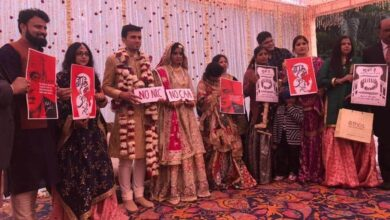 Photo of Jamia student uses her wedding as a platform to oppose CAA-NRC