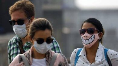 Photo of Delhi breathes hazardous air, once again