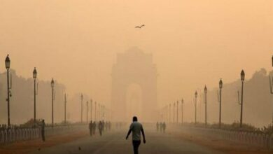 Photo of Delhi's air quality improves to 'moderate' category