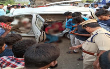 AP: Four killed in road accident in Krishna district