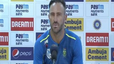 Photo of Last two days have been hugely positive: Faf du Plessis