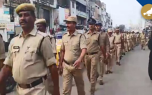 Hyderabad: Police conducts flag march in Old City