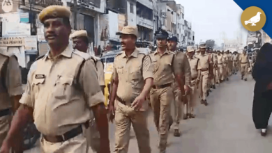 Photo of Hyderabad: Police conducts flag march in Old City