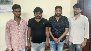 Photo of 4 arrested for organizing gambling in Bengaluru