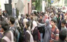 Jamia Millia students continue stir against Citizenship Act