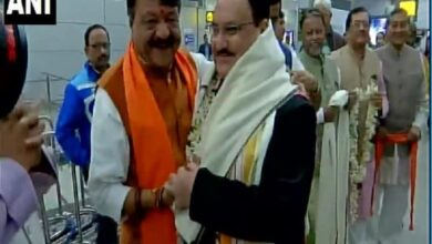 Photo of JP Nadda reaches Kolkata to lead march in support of CAA
