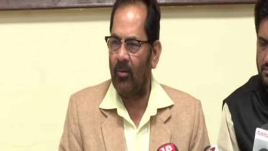 Photo of Bullet has no place in democracy: Mukhtar Abbas Naqvi