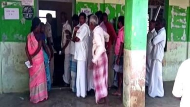 Photo of Voting underway for rural local body polls in Tamil Nadu