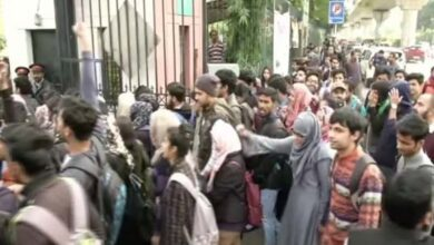 Photo of Police deny entering Jamia campus forcefully