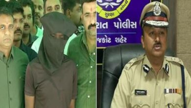 Photo of Gujarat: Man held for raping 8-year-old girl at knifepoint