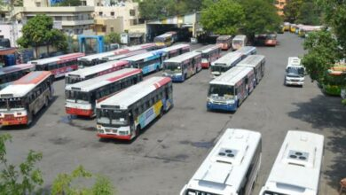 Photo of Post TSRTC strike: 50 pc buses require repair