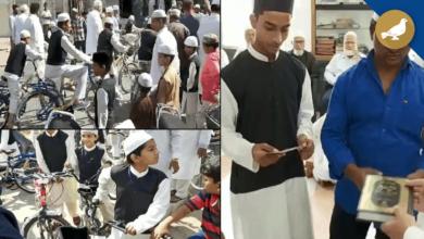 Photo of Hyderabad: Free bicycle to kids for praying fajr