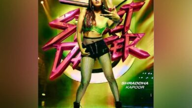 Photo of Shraddha Kapoor drops new poster of 'Street Dancer 3'