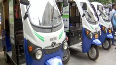 Photo of 'e-yAna' taxi service introduced in Hyderabad
