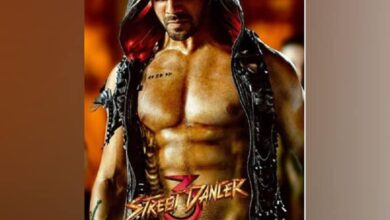 Photo of Varun Dhawan shares new poster of 'Street Dancer 3'