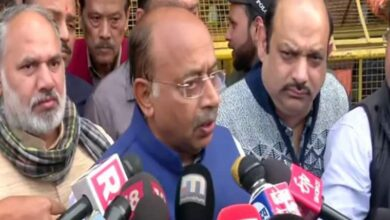 Photo of Vijay Goel expresses grief over fire incident at Anaj Mandi